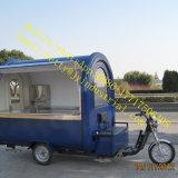 、ドーナツ飲む、揚げられていた食糧中国の販売のためのジュースの食糧トラックをきれいにすること容易なガスのグリドルの移動式台所