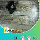 Geriebener Eichen-V-Grooved lamellierter Bodenbelag der Werbungs-12.3mm Hand