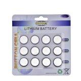 Batteria delle cellule della moneta di Li/Mno2 Cr2032 3V