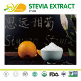 Dulzor del extracto de la hoja del Stevia de Steviosides alto