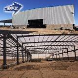 Magazzino prefabbricato dell'acciaio della costruzione di edifici della struttura d'acciaio