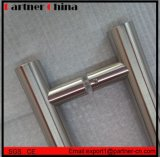 Mango de acero inoxidable SUS304 puerta de vidrio (01-102)