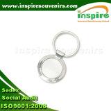 Forme ronde personnalisé en alliage de zinc trousseau vide