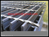 Гальванизированная циновка двери стальной решетки