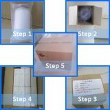 Mikropore gefalteter Sterilisation-industrieller Filter