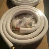 Tubo di collegamento di alluminio di rame del condizionatore d'aria con la noce/l'isolamento