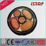 0.6/1 Kv изоляции 3+2-Core XLPE, кабеля стальной ленты бронированного, кабеля силы оболочки PVC/PE медного