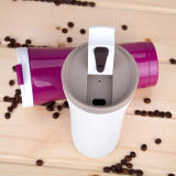 جدار مزدوجة يعزل [ستينلسّ ستيل] [كفّ كب] [إينوإكس] [كفّ كب] [450مل] معدن قهوة برميل دوّار فراغ قهوة برميل دوّار باردة & حاكّة قهوة برميل دوّار