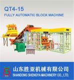 Máquina hidráulica inteiramente automática do bloco Qt4-15