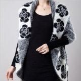 Mulheres por atacado que vestem vendas quentes da camisola do Short do casaco de lã de angorá da forma