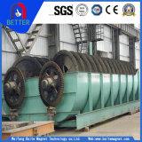 Classificador espiral do parafuso do fabricante de ISO9001 China para o cobre/minério da mina/ferro outros materiais magnéticos