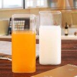 Hand - de gemaakte Gift van de Melk van de Kop van het Sap van het Glas van de Kop van de Thee van het Glas Vierkante Kop