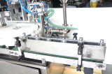 Automática de pistón líquido de relleno pequeña botella y Máquina que capsula