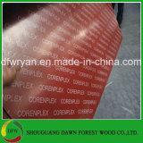 15mm 16mm 18mmの21mm熱い販売法はロゴの赤いフィルムによって直面された合板を印刷した