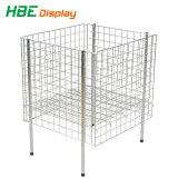 Ineinander greifen-Kasten-Draht-Behälter-Metallsortierfach-Speicher-Rahmen
