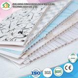 Poids léger 25mm*6mm hot stamping artistique plafond PVC conçoit, panneau de plafond en PVC de haute qualité de la Chine fournisseur DC-19
