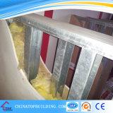 乾式壁の区分のためのUチャンネル; 隔壁のための金属フレーム