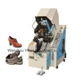 La convergencia de la máquina duradera para los zapatos de cuero