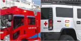 소방차 & 구급차를 위한 Senken 빨강 또는 파랑 호박색 또는 백색 IP65 24W LED 스트로브 경고등
