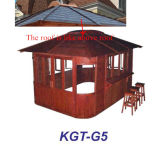 China Made Outdoor Garden Gazebo en bois Bar Kgt-G5