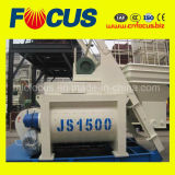 Mélangeur concret obligatoire, mélangeur concret du Double-Horizontal-Arbre Js1500