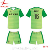Healong Fashion Design, Colorful football Goalkeeper set jersey uniform shirts