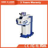 máquina que suelda del punto del soldador de la soldadura de la joyería de la plata del oro del laser del CNC de 100W 150W 200W