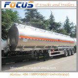 Legering van het aluminium 3 de Tank van de Brandstof van de As 49000L met Semi Aanhangwagen