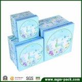 Comercio al por mayor caja de regalo Papel de almacenamiento personalizado