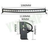 200W 40pouces LED simple rangée incurvée avec barre d'éclairage LED CREE