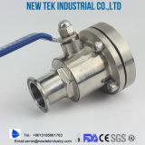 Санитарный шариковый клапан Non-Retenion сварки в стык AISI304