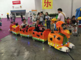 De Elektrische Trein van de Rit van Kiddie in Pretpark