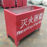 Panneau en aluminium spécial en couleur rouge pour extincteur