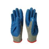 [10غ] زرقاء لثأ قفّاز مع قطر رماديّ داخلا