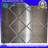 Folha de aço em metal expandido revestido de plástico de PVC para material de construção