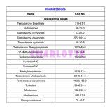 Materia Prima esteroides testosterona cipionato de funcionamiento masculino