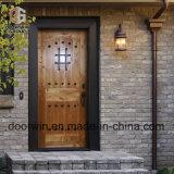 Home를 위한 활 모양으로 한 Decorative Wrought Iron Clavos Exterior Doors 프랑스 Door Front Door