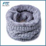 Lenço grosso da garganta do colar do lenço dos homens das mulheres do lenço do inverno dos miúdos