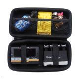 À prova de choques PU ferramentas EVA maleta de couro bolsa caso (FRT2-366)