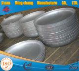 皿ヘッド、圧力容器のための皿の端