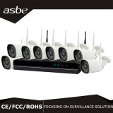 8CH 2.0MP無線IP NVRキットCCTVの機密保護のホームカメラの監視