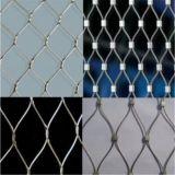 316Lステンレス鋼の機密保護ワイヤーロープMesh/Ssのフェルールの網
