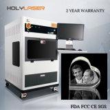 Prezzo della macchina per incidere del laser a cristallo del ritratto della fabbrica 3D del macchinario del laser