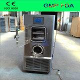 Secador de congelamento do vácuo farmacêutica para laboratório com sistema Stoppering