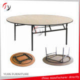 Opvouwbaar Round Wedding Hotel Restaurant Banquet Table (BT-01-1)