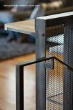Промышленных электротехнических алюминиевых обработки&Precision окраска Juction окно с вентиляционными отверстиями верхней панели