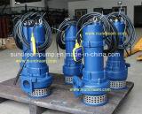 Bomba de aguas residuales sumergible de la serie de WQ