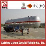 LPGの記憶のタンカーの液化石油ガスの半トレーラトラックのトレーラー