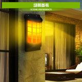 高い市場の太陽火のコップの炎のBalzeの芝生の壁の装飾のランタンランプライト