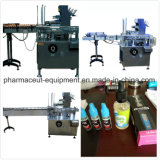 380V 50Hz 3p máquina de embalagem de papelão da Caixa de assistência médica a capacidade de pílulas 60-100 caixas/min